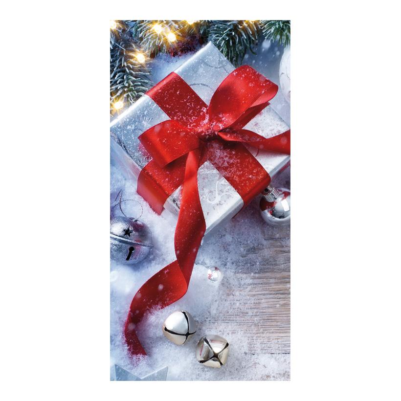 """# Motivdruck """"Geschenk"""", 180x90cm Stoff"""