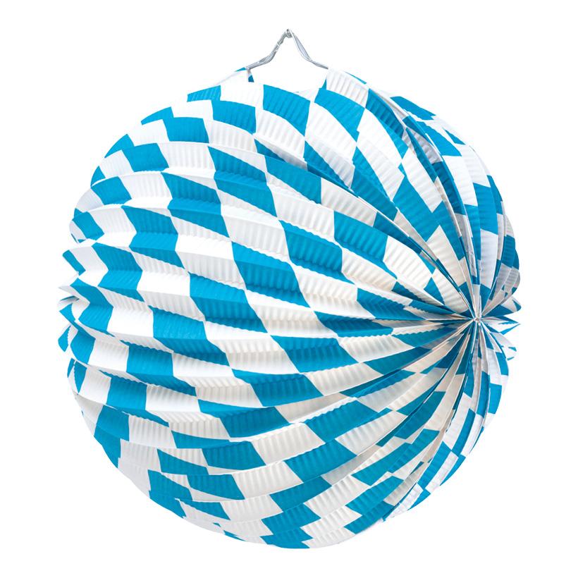 "# Lampion ""Bavaria"", Ø 25cm, Papier, schwer entflammbar"