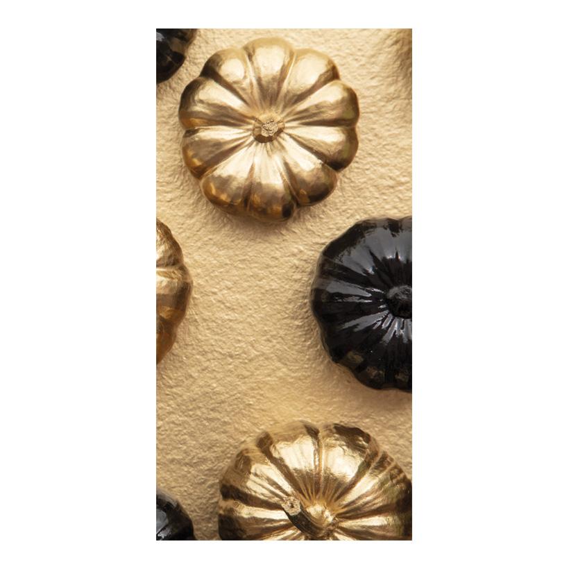 "# Motivdruck ""Golden pumpkin"", 180x90cm Stoff"