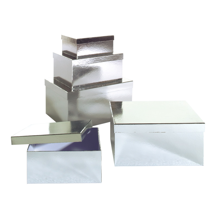 Geschenk-Kartonagensatz, 27,5x21,5x11,5cm - 47,5x33,5x23,5cm, 27,5x21,5x11,5cm, 5tlg., rechteckig