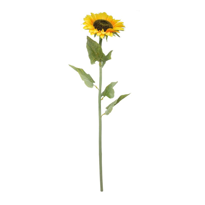 Sonnenblume, 110cm, Kunstseide, Ø25cm Blüte