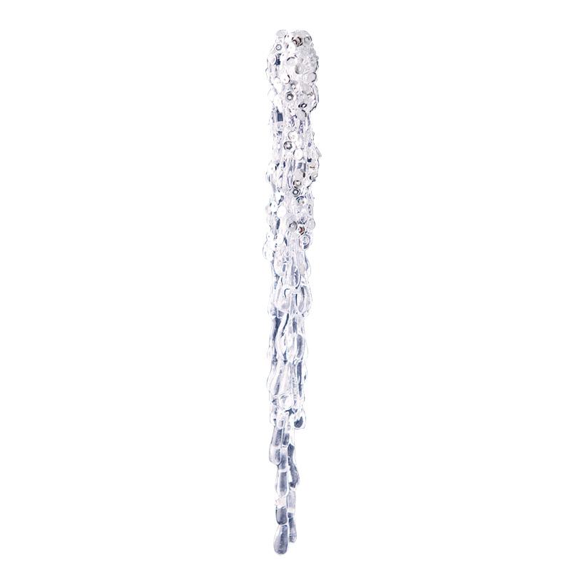 Eiszapfen, 20x2cm mit Hänger