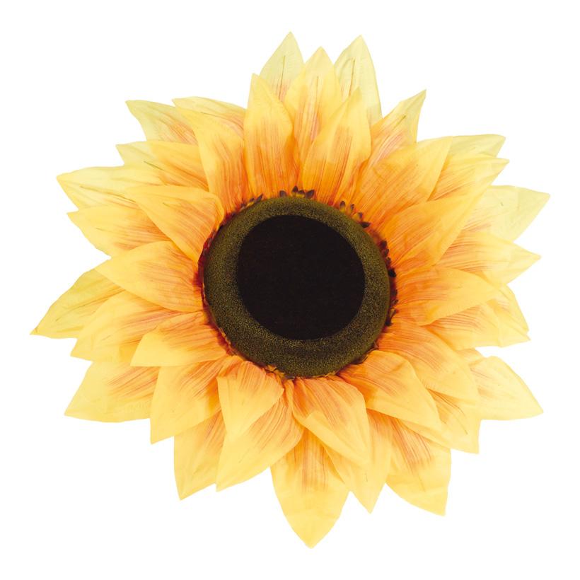 Sonnenblumenkopf, Ø 95cm, Kunstseide