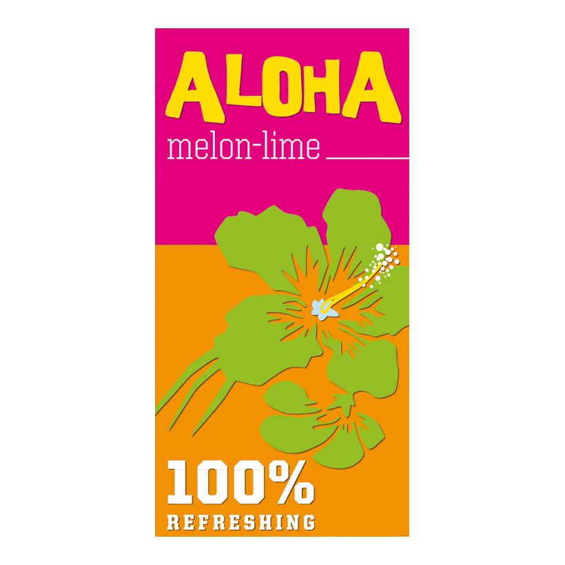"""# Motivdruck """"Aloha"""", 180x90cm Stoff"""