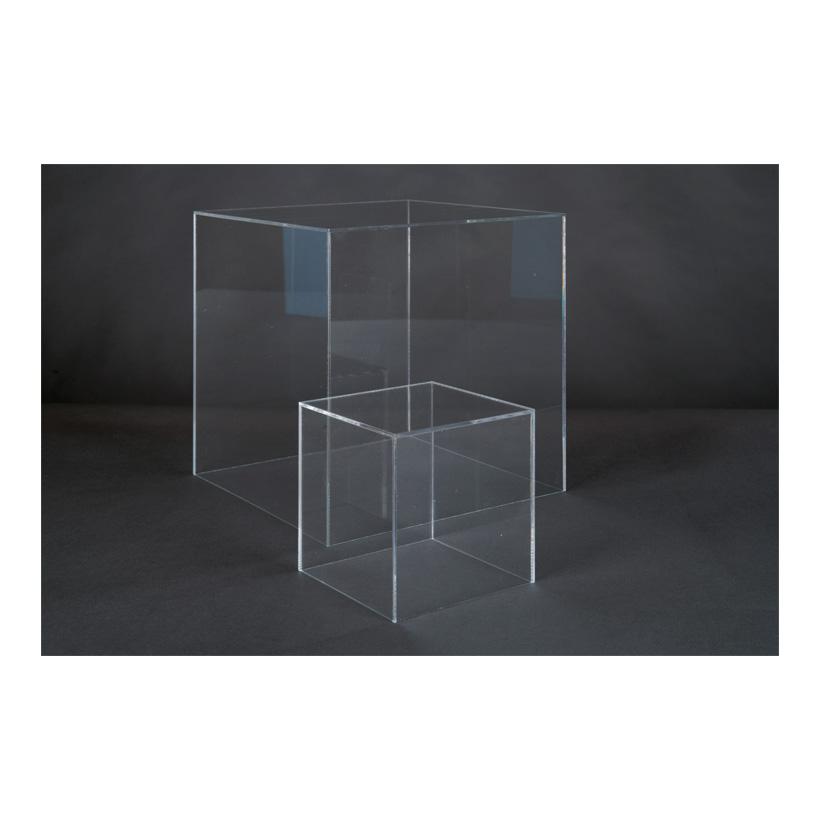 # Acryl-Box, 15x15x15cm oben geöffnet