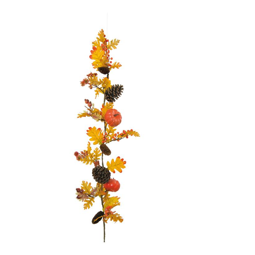 Girlande, 120cm aus Kunststoff/Styropor, mit Dekoration