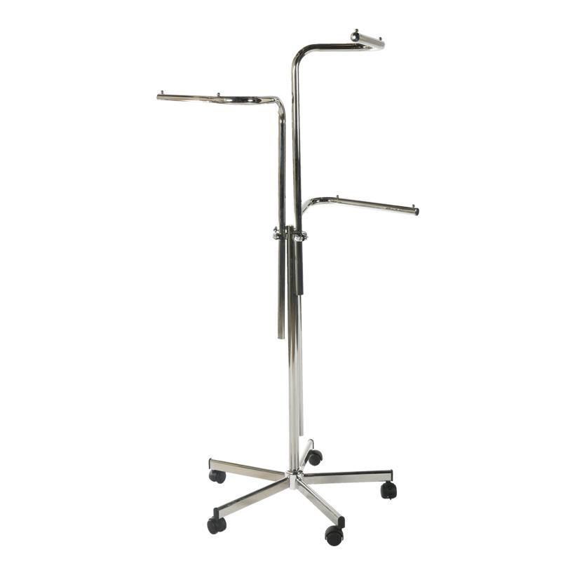 # Ständer, 110-170cm, 3-armig, höhenverstellbar, gerade Arme, Metall