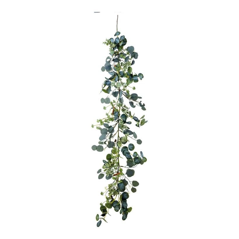 Eukalyptusgirlande, 150cm aus Kunststoff und Kunstseide