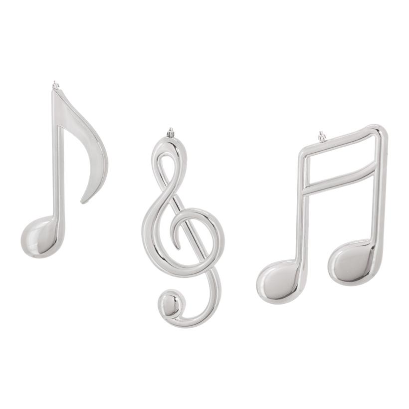Musiknoten, 30cm, 3-fach, für innen+aussen, Kunststoff