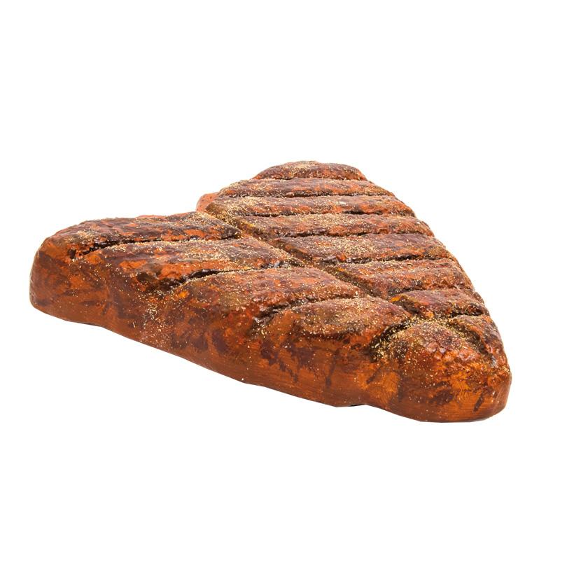 # Steak 40x40x8cm gegrillt, 3D, aus Styropor