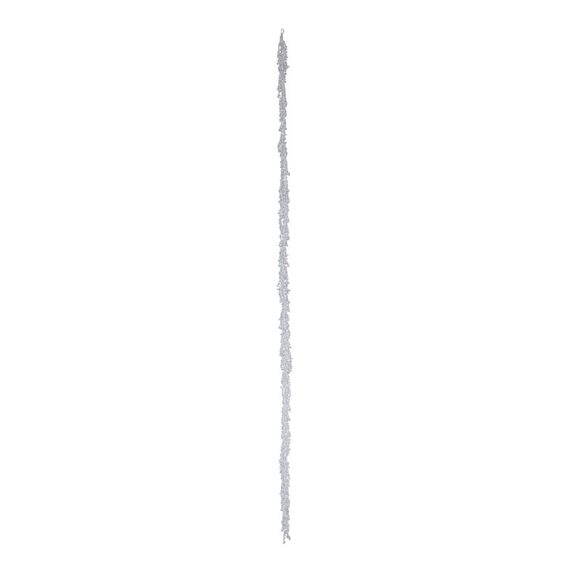 Kristallgirlande, 180cm mit 10cm Kristallketten