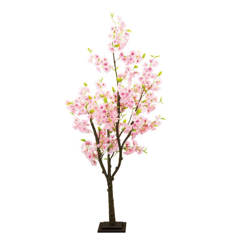 Kirschblütenbaum, 180cm mit Holzfuß, aus Kunstseide