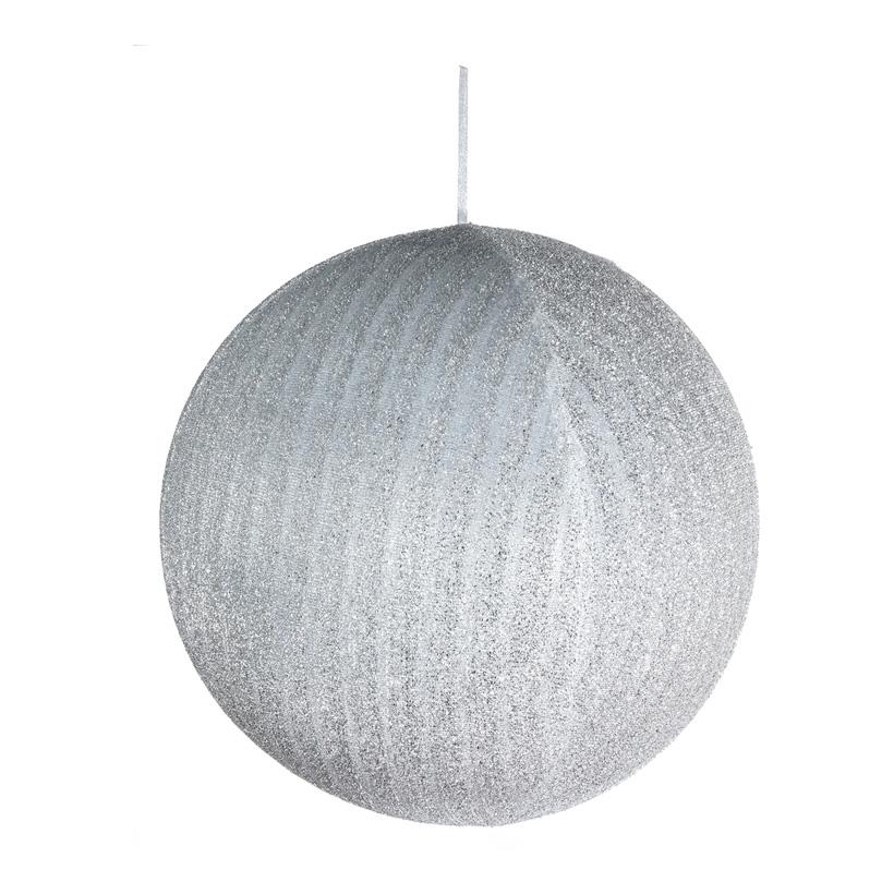 Textil-Weihnachtskugel, Ø 60cm aufblasbar