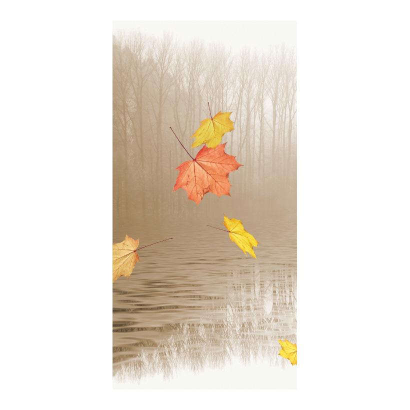 """# Motivdruck """"Blätter im Wind"""", 180x90cm Papier"""