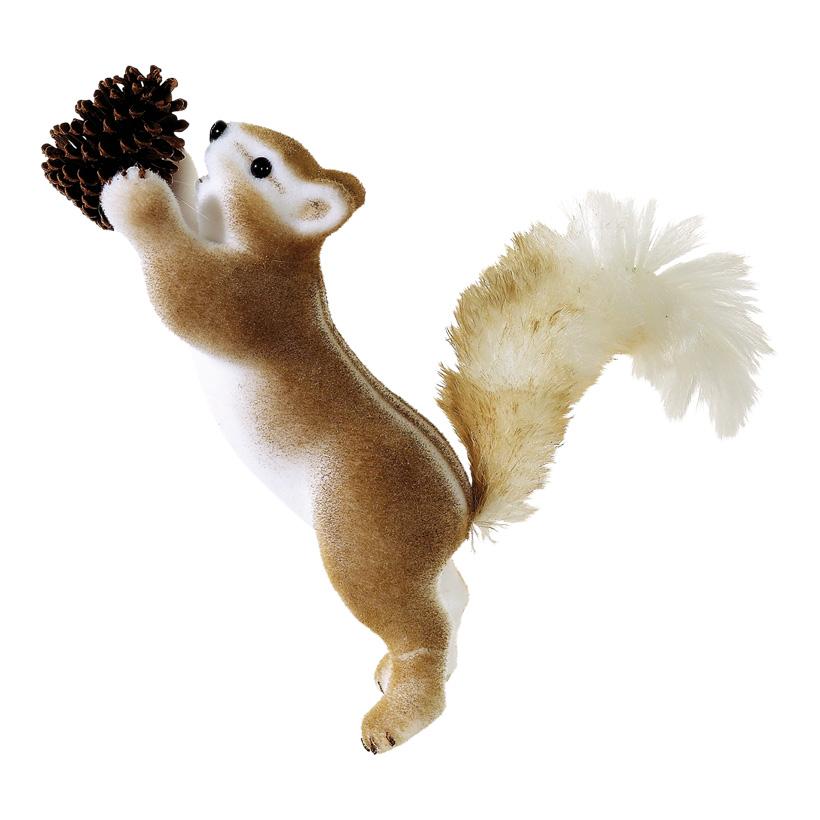 # Streifenhörnchen 53x45x25cm aus Styropor