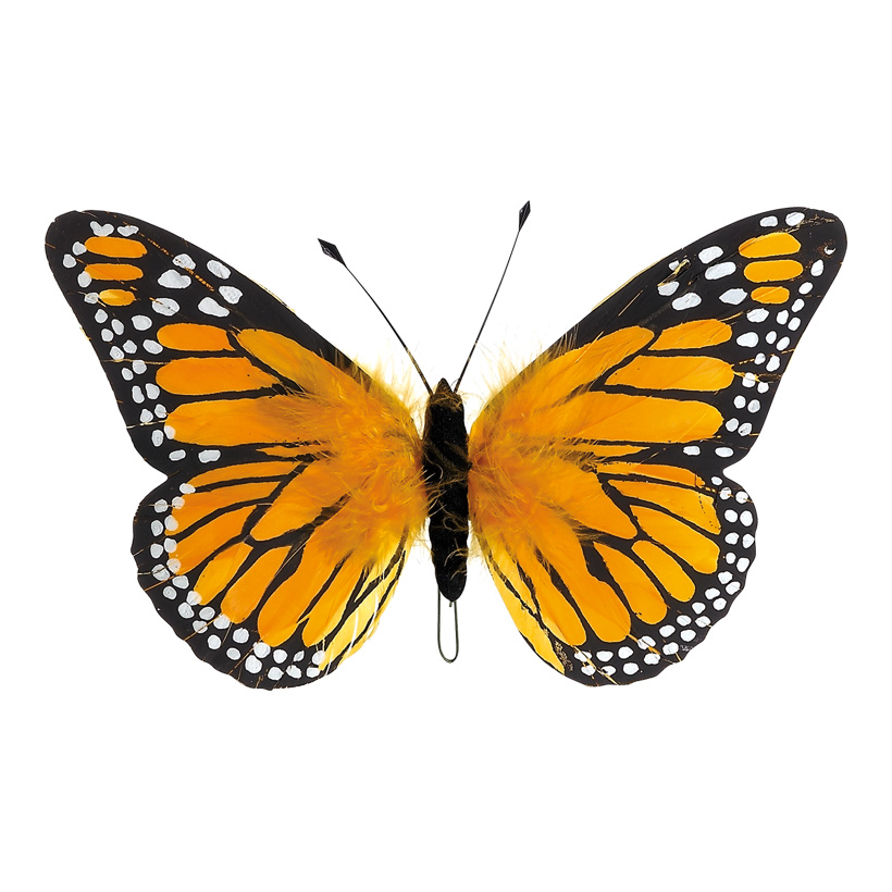 # Schmetterling 18x30 cm Federn
