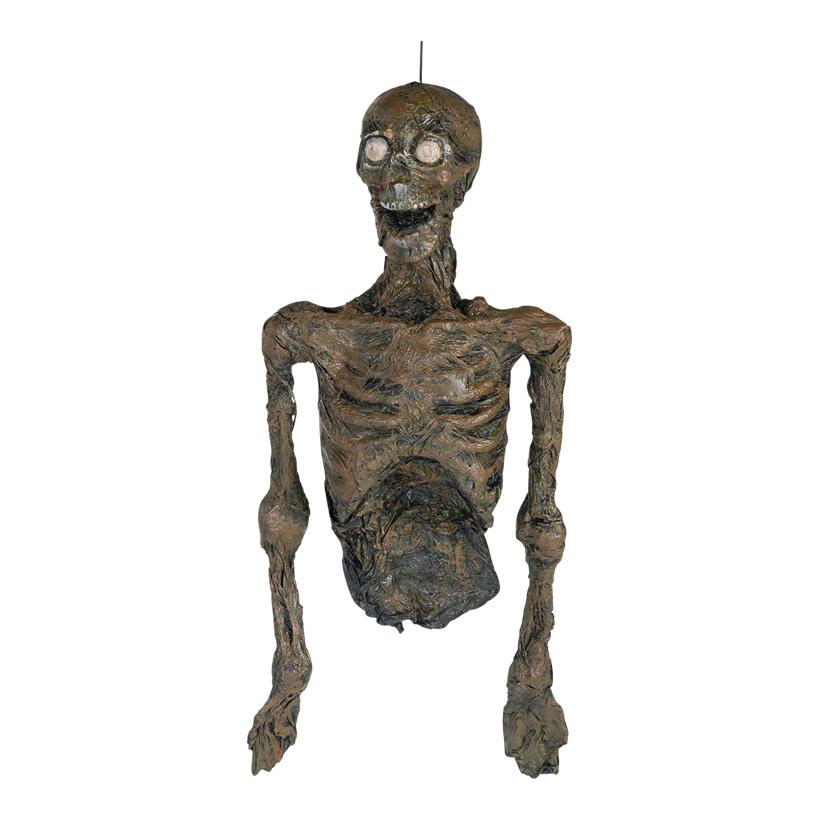 Zombietorso mit Hänger, 86cm mit Lichteffekten