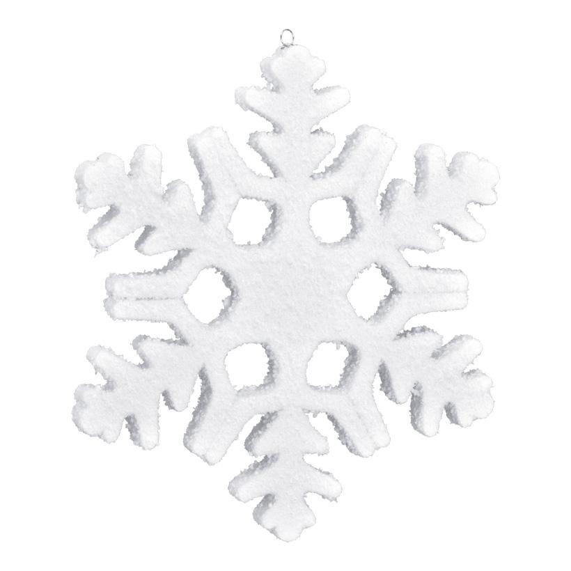 Schneeflocke, 30x30cm, Styrofoam