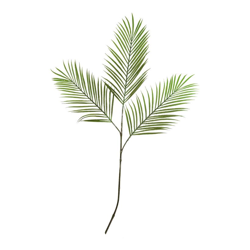 Areca-Palmzweig, 80cm, 3-fach, Filz+Kunststoff