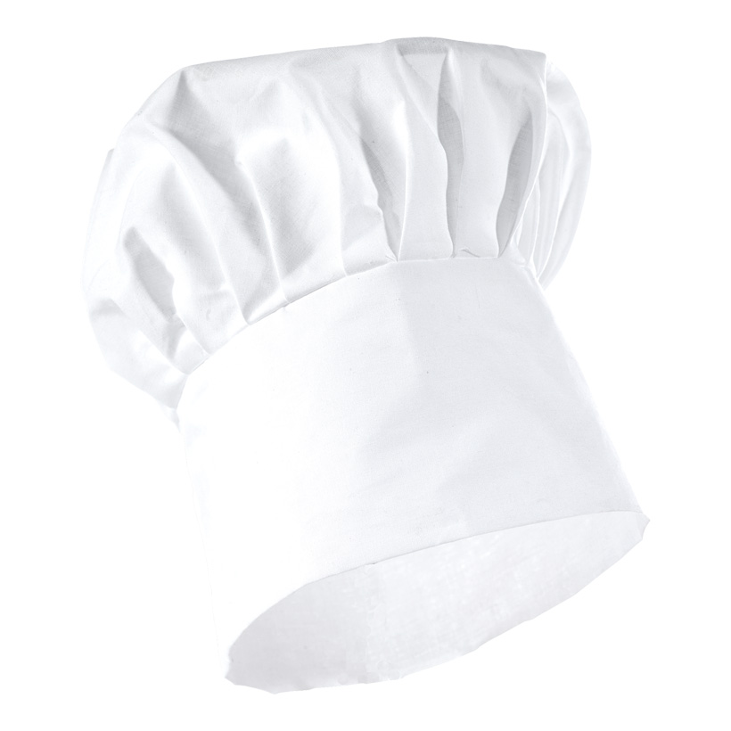 # Kochmütze 19 x 20 cm (H/Ø) Baumwolle/Polyester