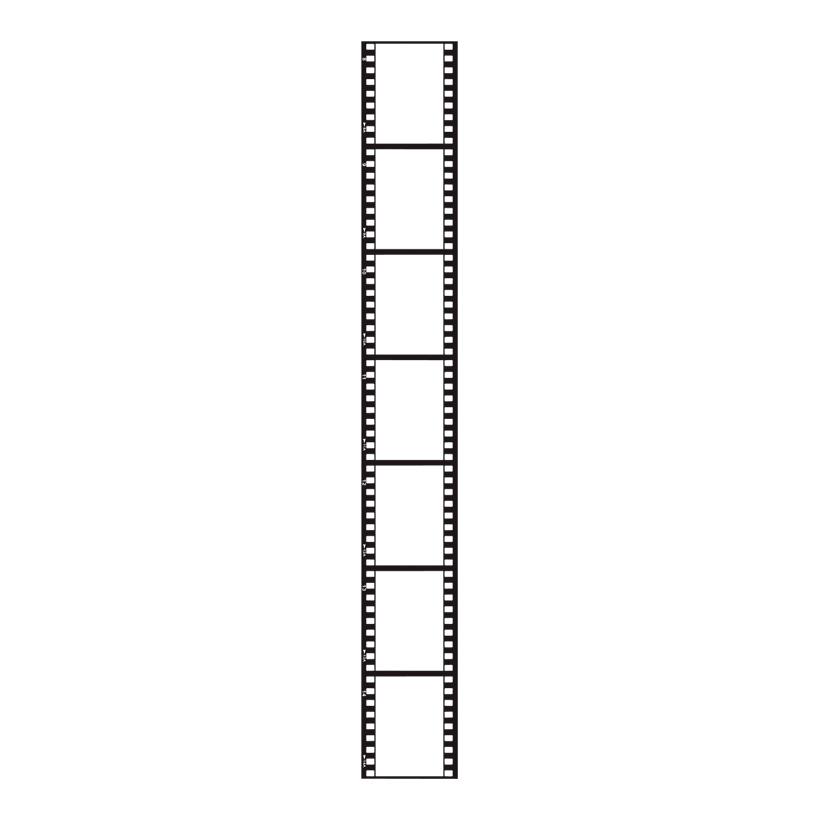 # Filmstreifen 230x30 cm PVC, 3-tlg./Set