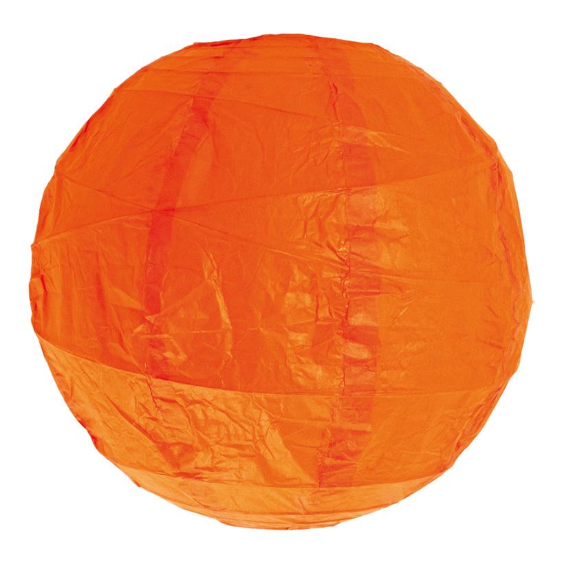 Lampion, Ø 30cm, unregelmäßig geripptes Papier