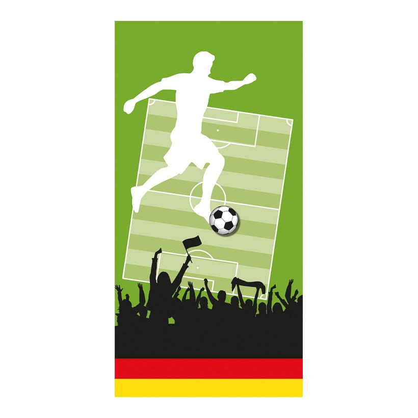 """# Banner Fußball """"3"""" 180x90cm einseitig bedruckt"""