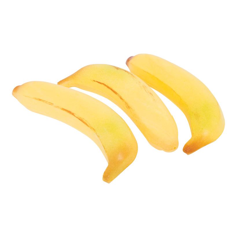 # Banane, 19x3,5cm, 3Stck./Btl., Kunststoff
