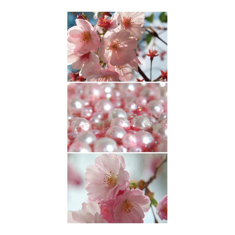 """# Motivdruck """"Kirschblüte"""", 180x90cm Papier"""