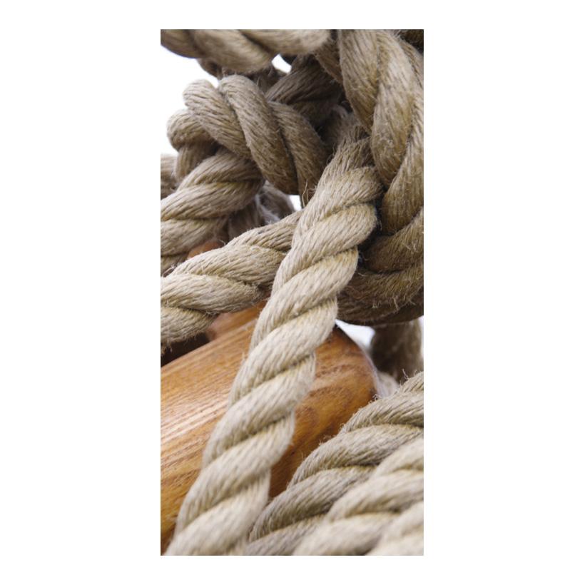 """# Motivdruck """"Knoten"""", 180x90cm Stoff"""