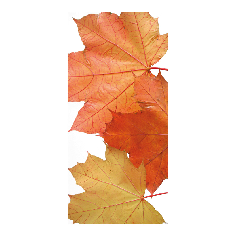 "# Motivdruck ""Brown leaves"", 180x90cm Papier"