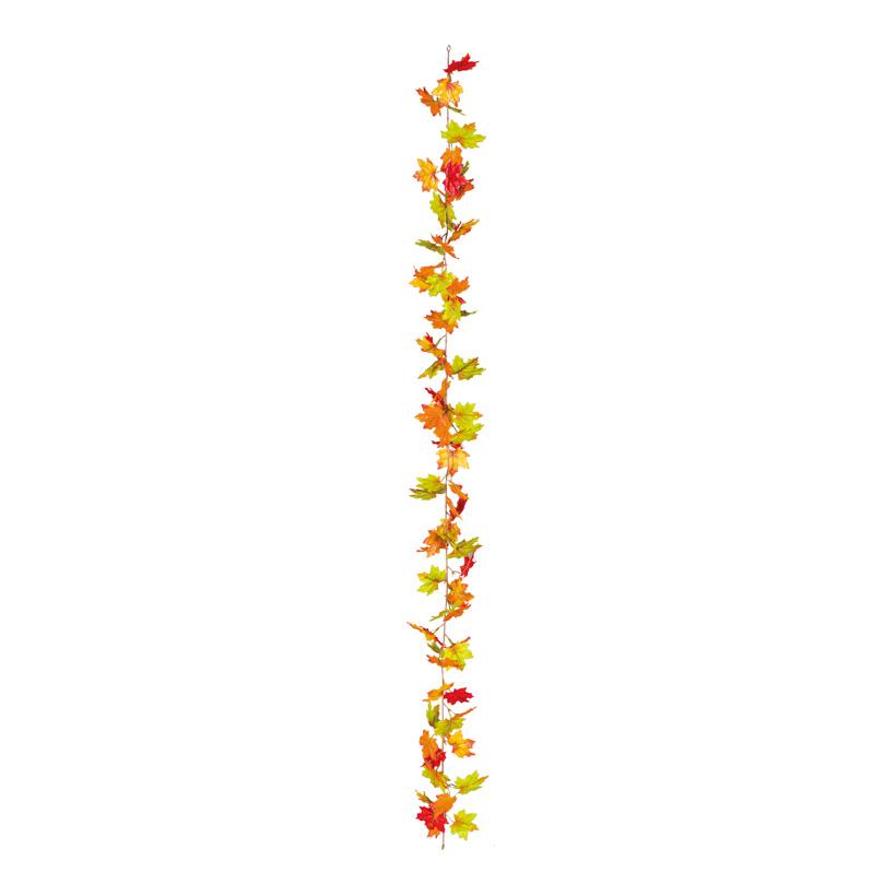 Ahornblattgirlande, 180cm ca. 70 kleine Blätter