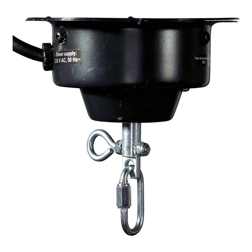 # Decken-Drehmotor 8,5x12 cm (H/Ø) max. 4 kg, 230V AC