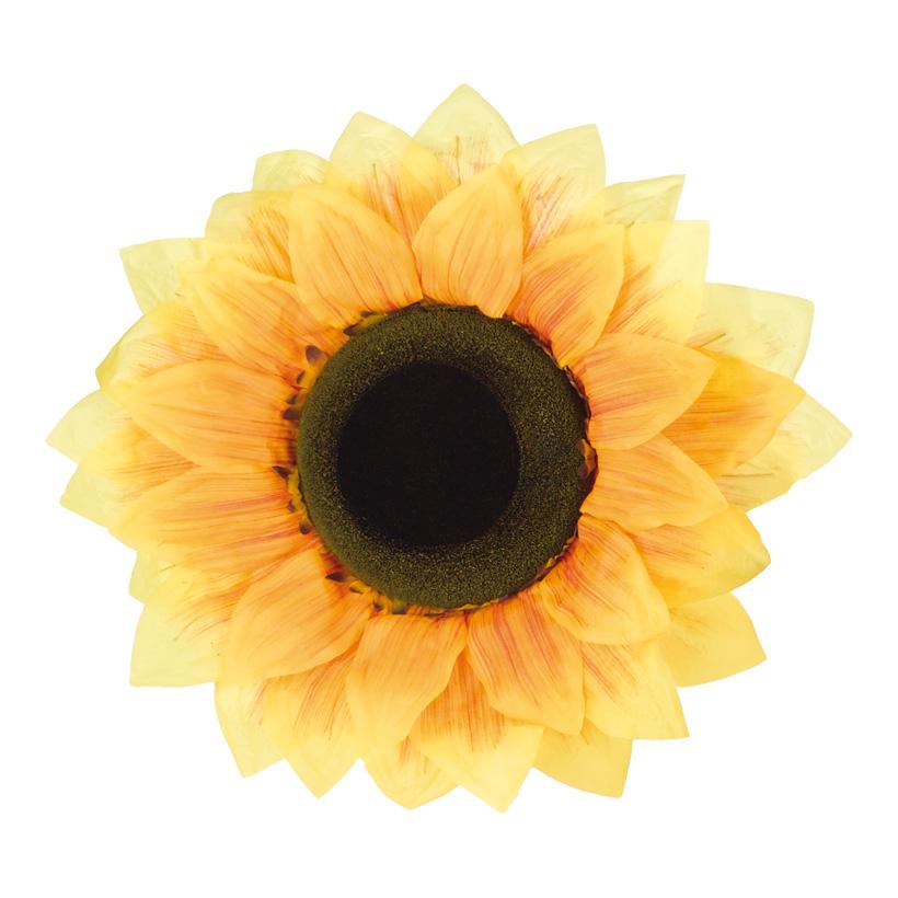 Sonnenblumenkopf, Ø 50cm, Kunstseide