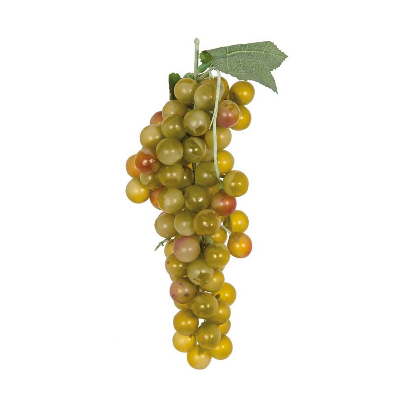 Weintrauben, 25cm mit Hänger, 90-fach, aus Kunststoff