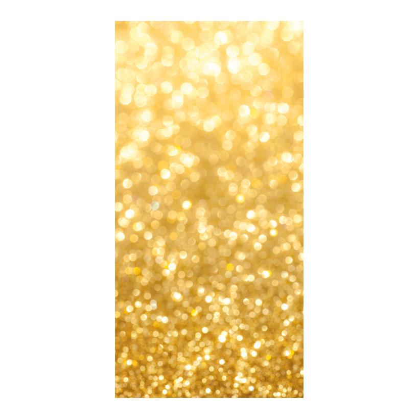 "# Motivdruck ""Goldglitzer"", 180x90cm Stoff"
