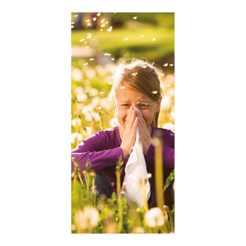 """# Motivdruck """"Allergie"""", 180x90cm Papier"""