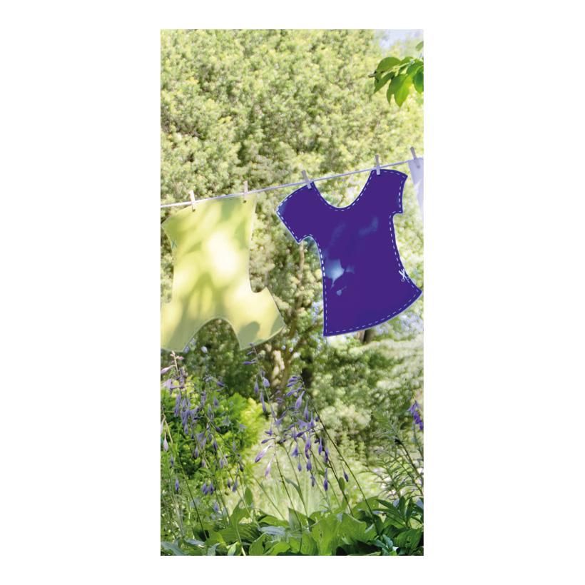 """# Motivdruck """"Gartenzauber"""", 180x90cm Stoff"""