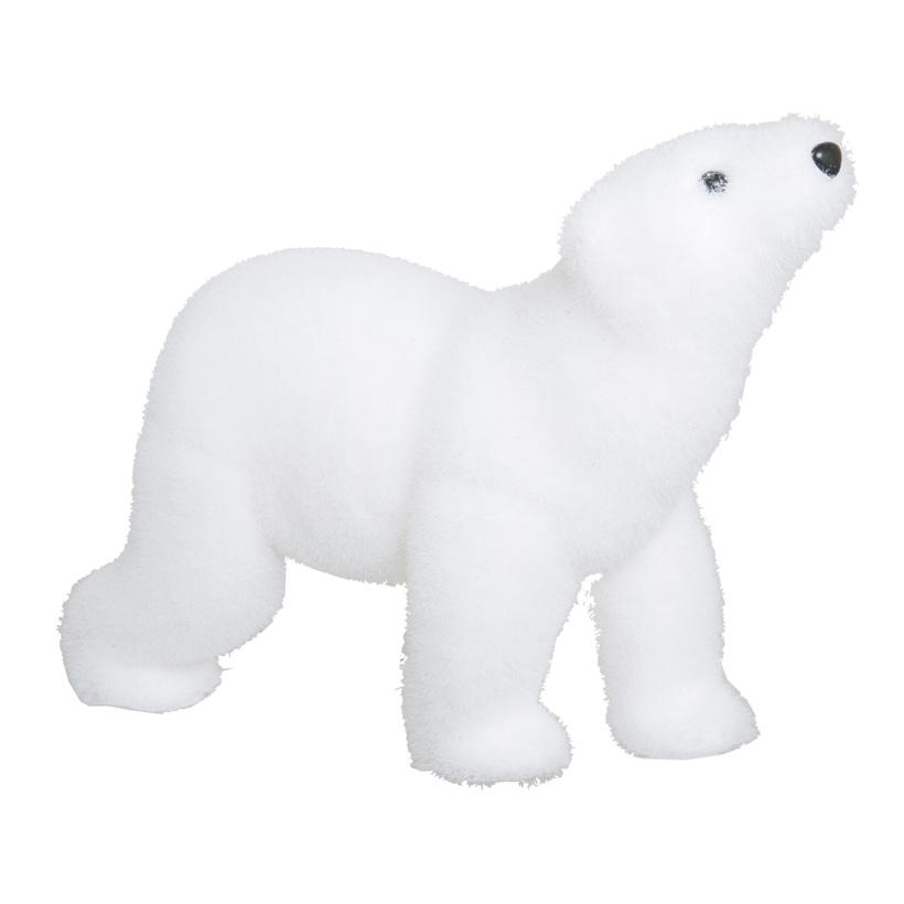 Eisbär, 35x24cm, laufend, Styropor