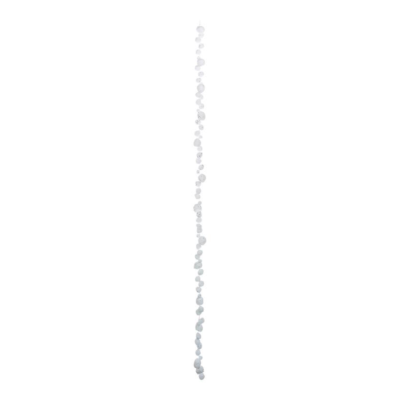 Schneeballkette, Ø 1-3 cm 150 cm Styropor