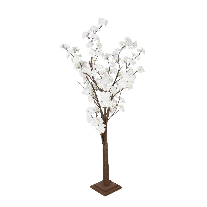 Kirschblütenbaum, 120cm, Stamm aus Hartpappe, Blüten aus Kunstseide
