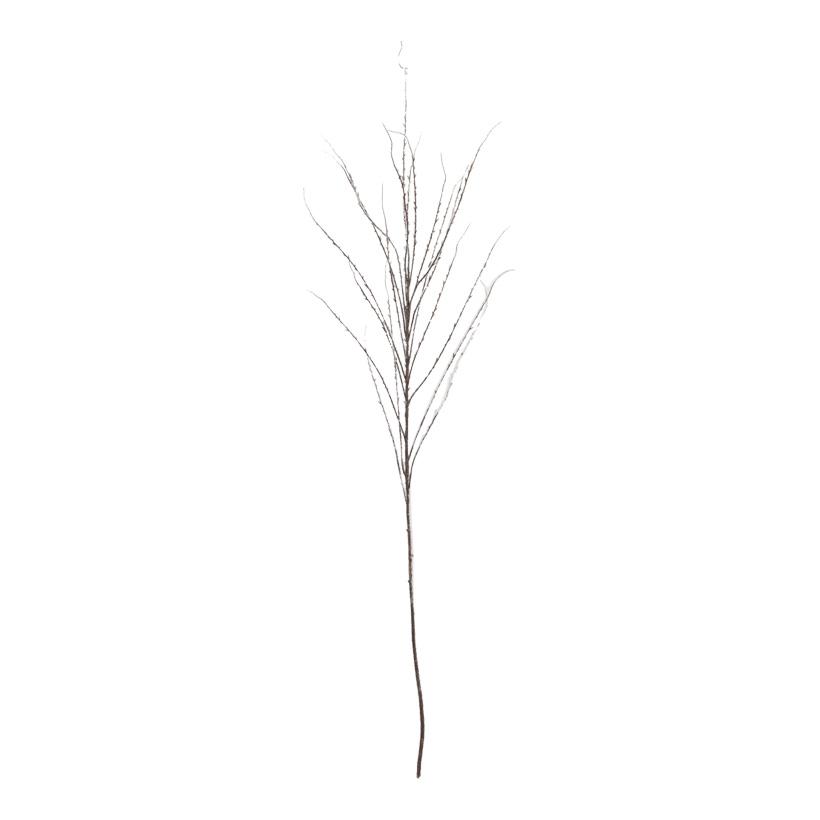 Zweig, beflockt, 120cm, 20 Äste, Kunststoff