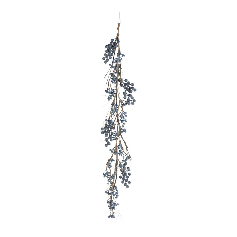 Beerengirlande, 120cm mit Beeren aus Styropor