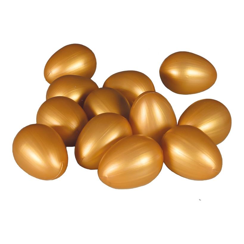 # Eier, 6,5cm Ø4,5cm 12 im Beutel