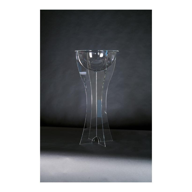 # Acryl-Display, 43x43x90cm mit Halbkugel als Warenschütte