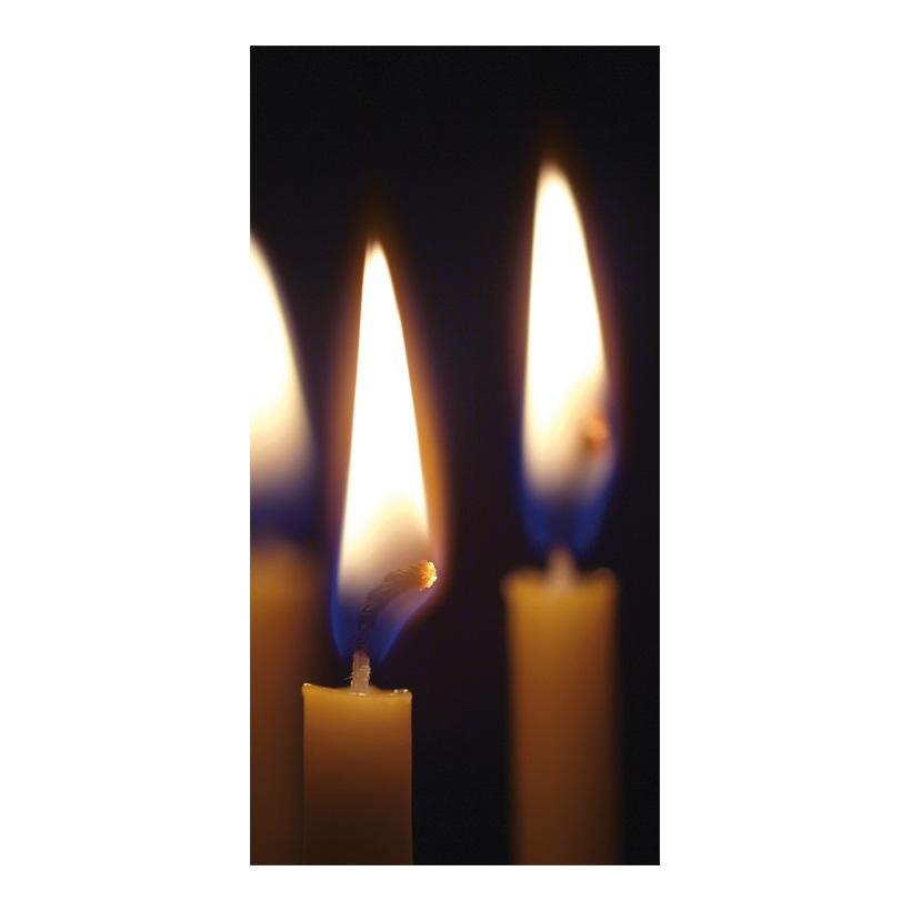 """# Motivdruck """"Kerzenschein"""", 180x90cm Stoff"""