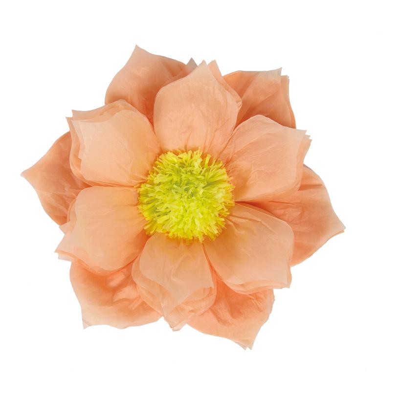 Papierblüte, Ø60cm mit Hänger