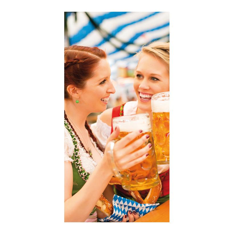 "# Motivdruck ""Oktoberfest"", 180x90cm Stoff"