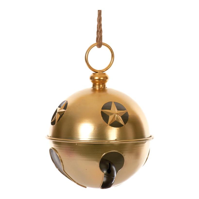 Riesenschelle, 27x37cm, mit Seilaufhängung, Metall