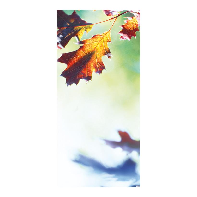 """# Motivdruck """"Eichenblätter"""", 180x90cm aus Papier"""